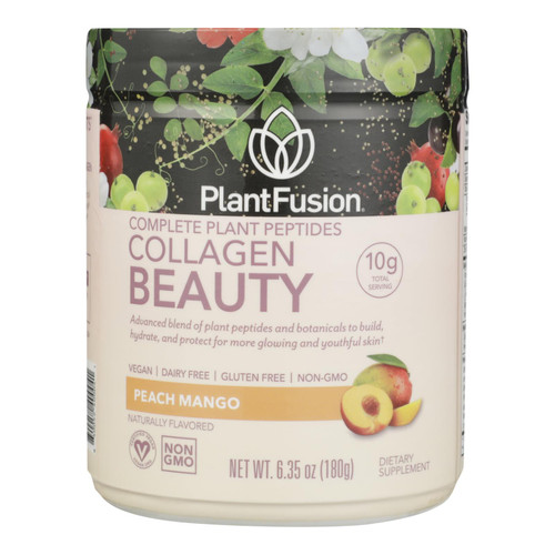 Plantfusion - Cllgn Beauty Peach Mango - 1 Each - 6.35 Oz