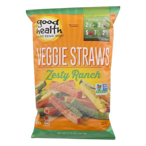 Good Health - Veggie Straws Zesty Ranch - Case Of 10 - 6.25 Oz