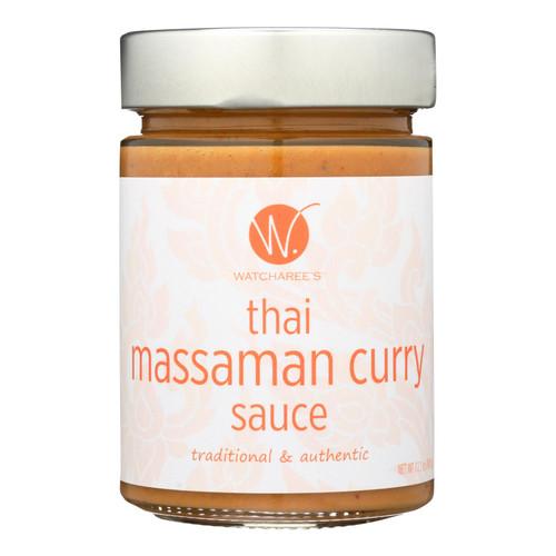 Watcharees Thai Massaman Curry Sauce  - Case Of 6 - 12.2 Oz