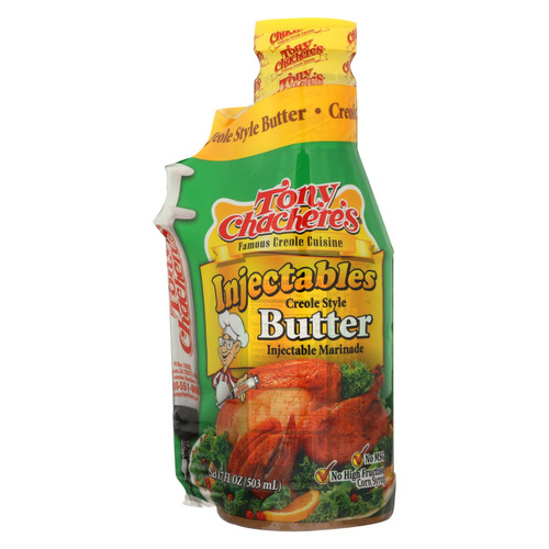 Tony Chachere's Injectables Creole Style Butter - Case Of 6 - 17 Oz