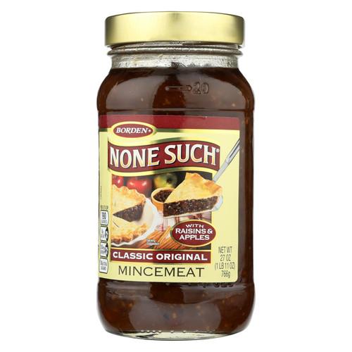 None Such - Mincemeat Classic Original - Case Of 12 - 27 Oz