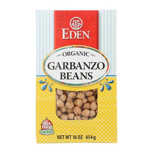 Eden Foods - Beansgarbanzo Dry - Case Of 12-16 Oz