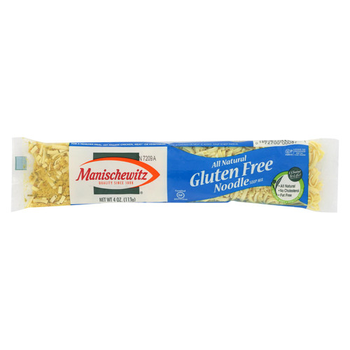 Manischewitz Gluten Free Noodle Soup Mix  - Case Of 24 - 4 Oz
