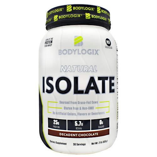 BodyLogix Natural Isolate Protein Vanilla Bean - Gluten Free