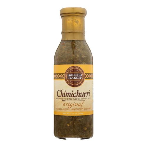 Gaucho Ranch Dressing - Chimichurri - Original - Case Of 6 - 12.5 Fl Oz