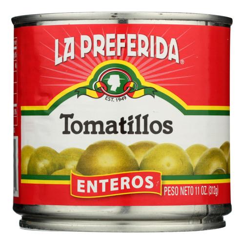 La Preferida - Green Tomatillo - Case Of 12 - 11 Oz