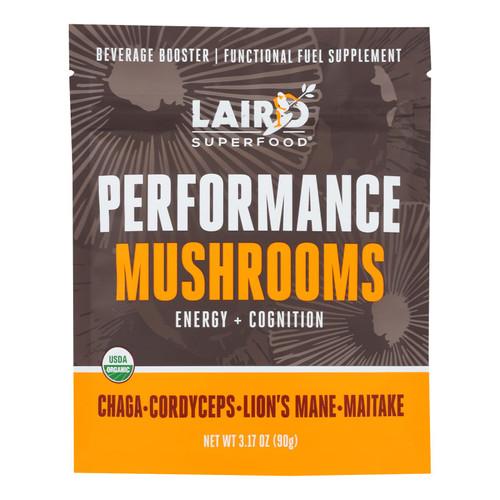 Laird Superfood - Bev Bstr Prfmce Mushroom - Case Of 6 - 3.17 Oz