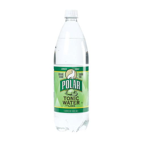 Polar Beverages Tonic - Lime - Case Of 12 - 33.8 Fl Oz