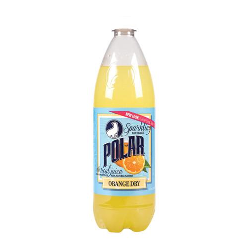 Polar Beverages Orange Dry - Case Of 12 - 33.8 Fl Oz