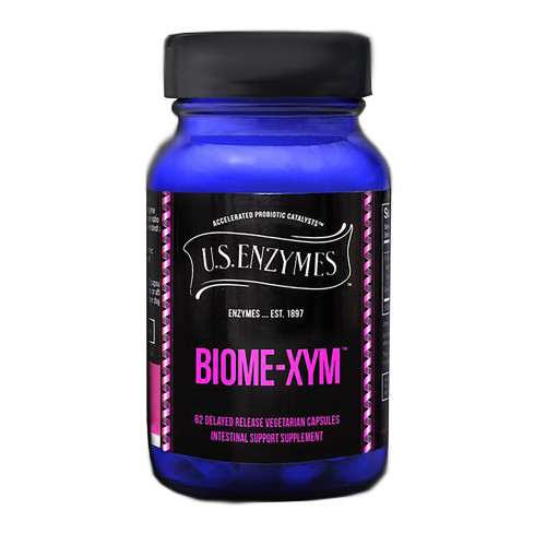 Biome-xym by U.S. Enzymes 62 capsules