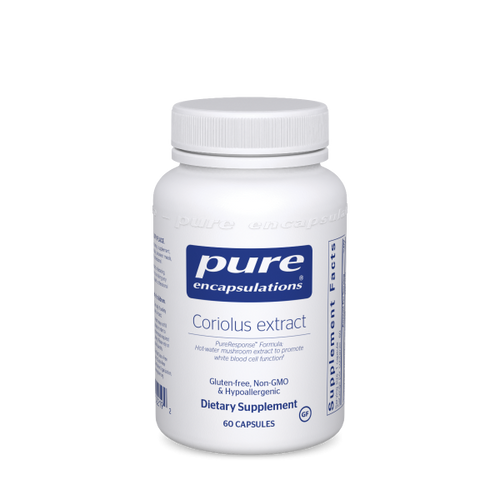 Coriolus extract by Pure Encapsulations 60 capsules