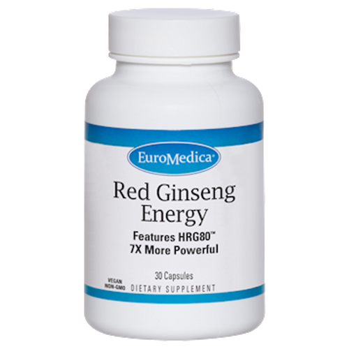Red Ginseng Energy by EuroMedica 30 capsules