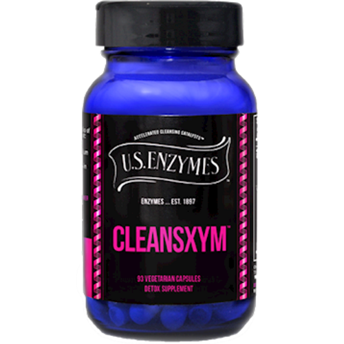 Cleansxym by U.S. Enzymes 93 capsules