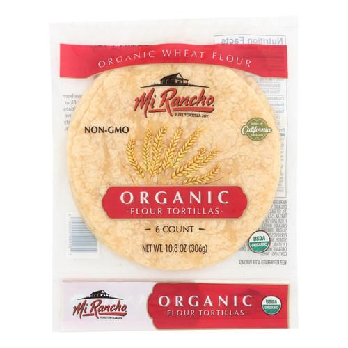 Mi Rancho - Tortilla Og2 Flour 6ct Sm - Cs Of 12-10.8 Oz