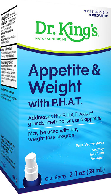Appetite & Weight with P.H.A.T. by Dr King's 2oz