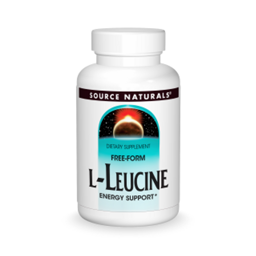 L-Leucine 500mg by Source Naturals 120 capsules