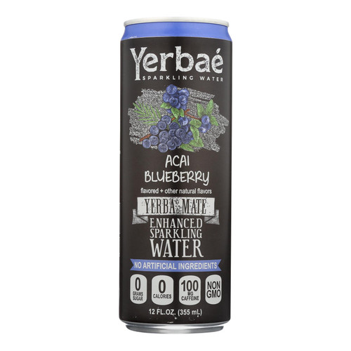 Yerbae - Sparkling Water Yrba Mte Acai/bb - Case Of 12-12 Fz