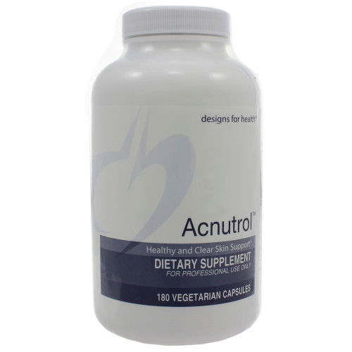 Acnutrol by Designs For Health 180 capsules