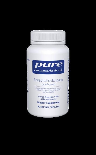 Phosphatidylcholine by Pure Encapsulations 90 softgel capsules