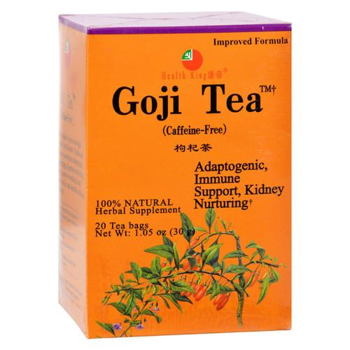 Health King Medicinal Teas Tea - Goji - 20 Bag
