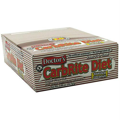 Universal Nutrition Doctor's CarbRite Sugar Free Bar Toasted Coconut - Gluten Free
