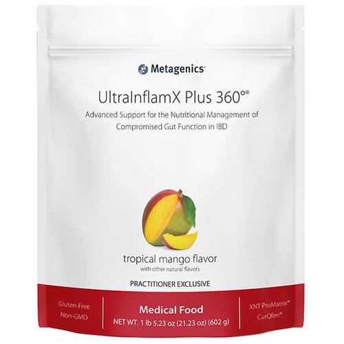 UltraInflamX Plus 360 Tropical Mango by Metagenics 21.23 oz 14 servings
