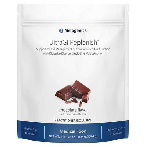 UltraGI Replenish Chocolate by Metagenics 14 servings