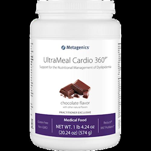 UltraMeal Cardio 360 Chocolate by Metagenics 20.24oz 14 servings