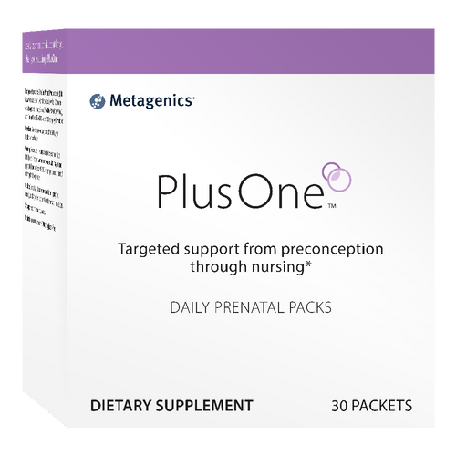 Plus One Daily Prenatal by Metagenics 30 packets