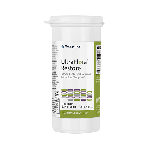 UltraFlora Restore by Metagenics 30 capsules