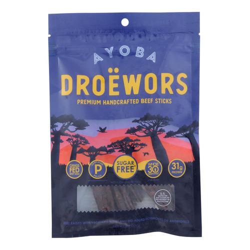 Ayoba-yo - Droewors South African Jerky - Case Of 8 - 2 Oz.