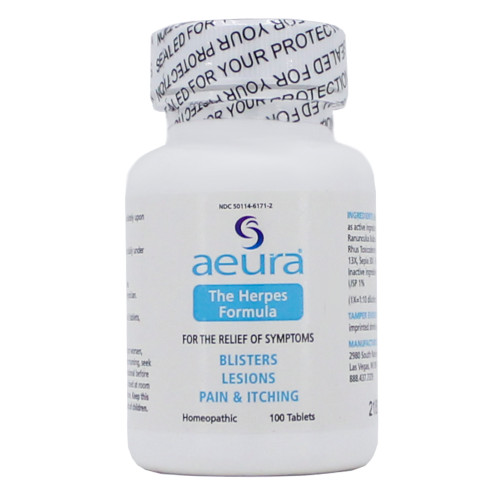 The Herpes Formula by Aeura 100 tablets