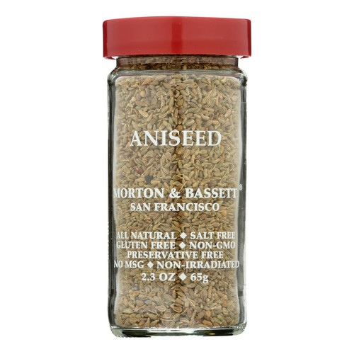 Morton And Bassett Seasoning - Aniseed - 2.3 Oz - Case Of 3
