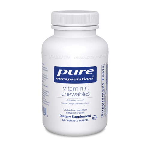 Vitamin C chewables by Pure Encapsulations 60 chewable tablets