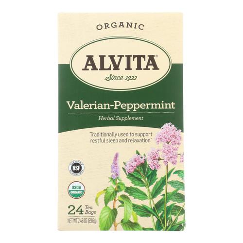 Alvita - Tea Og2 Valerian Pprmnt - Ea Of 1-24 Bag