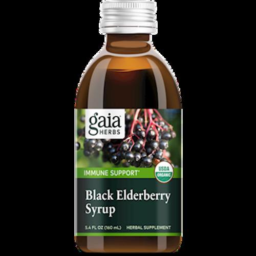 Black Elderberry Syrup by Gaia Herbs 5.4oz