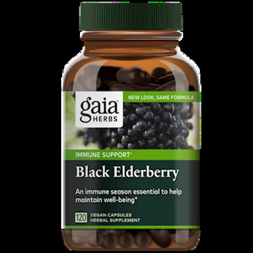 Black Elderberry by Gaia Herbs 120 vegan capsules