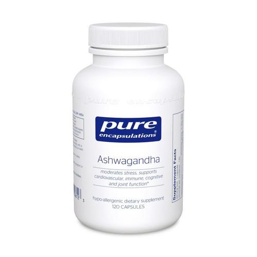 Ashwagandha by Pure Encapsulations 120 capsules