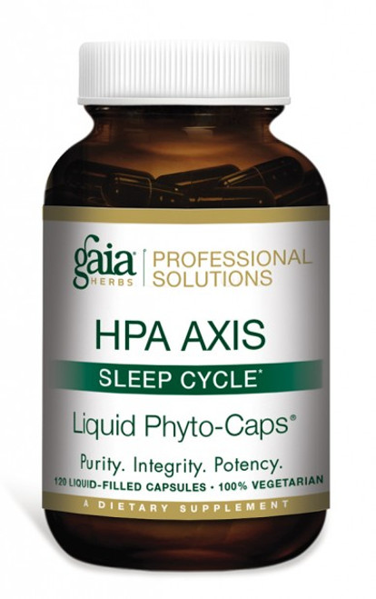HPA Axis Sleep Cycle by Gaia Professional Solutions 120 liquid phyto-caps