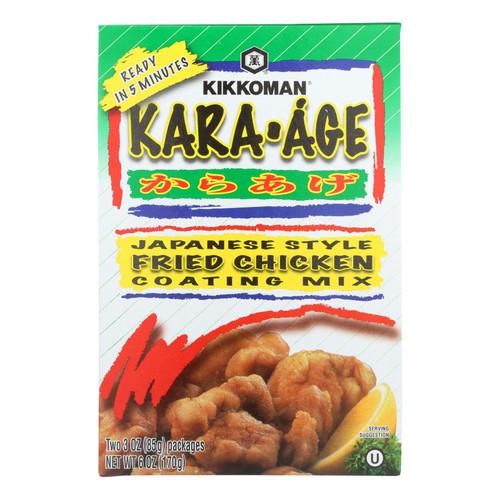 Kikkoman Coating Mix - Kara Age - Case Of 12 - 6 Oz