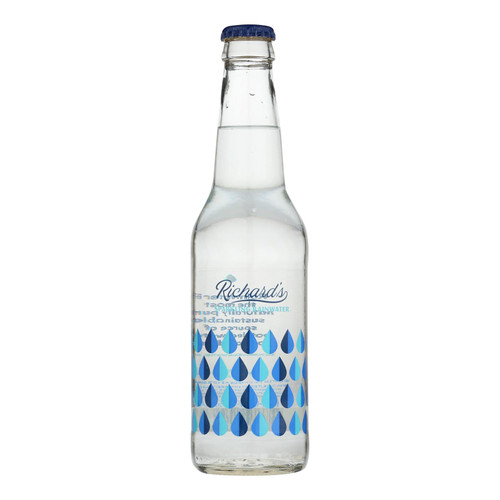 Richard's Rainwater - Sparkling Water - Case Of 12 - 12 Fz