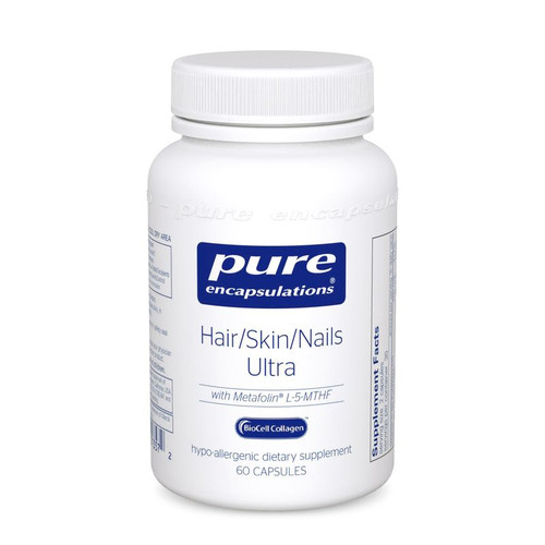 Hair/Skin/Nails Ultra by Pure Encapsulations 60 capsules
