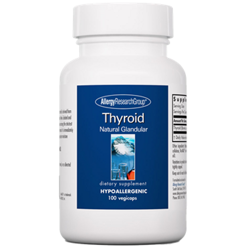 Thyroid by Allergy Research Group 100 capsules