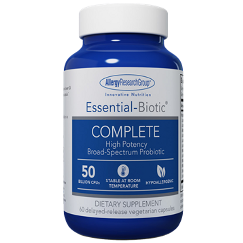 Essential-Biotic Complete by  Allergy Research Group 60 capsules