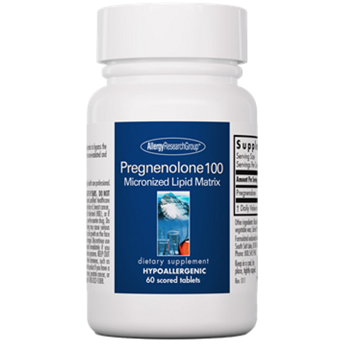 Pregnenolone 100 by Allergy Research Group 60 tablets