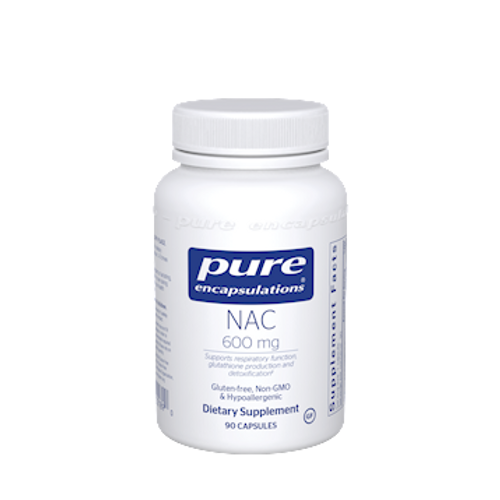 NAC 600mg by Pure Encapsulations 90 capsules