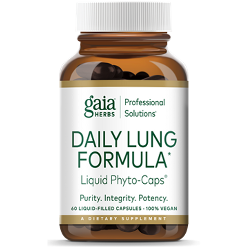 Daily Lung Formula by  Gaia Professional Solutions 60 liquid phyto-caps