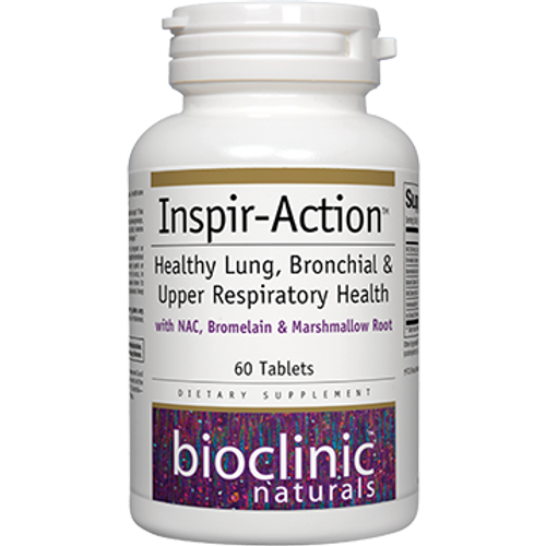 Inspir-Action by Bioclinic Naturals 60 tablets