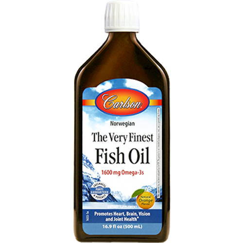 The Very Finest Fish Oil Orange Flavor by Carlson Labs 16.9 oz