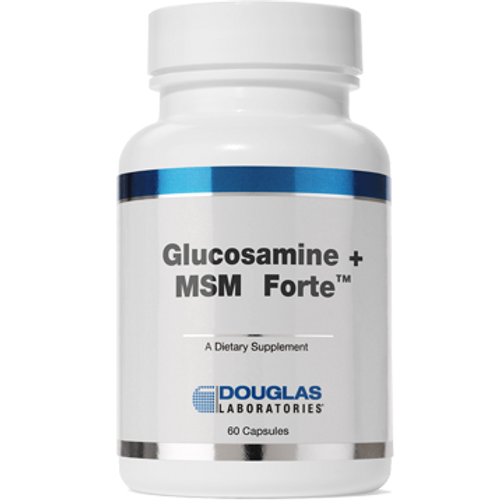 Glucosamine + MSM Forte by Douglas Laboratories 250 capsules
